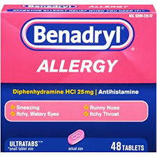 Benadryl for Hives Treatment