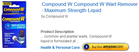 compound w liquid