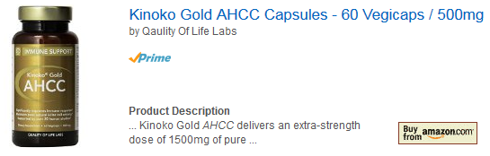 ahcc kinoko gold amazon