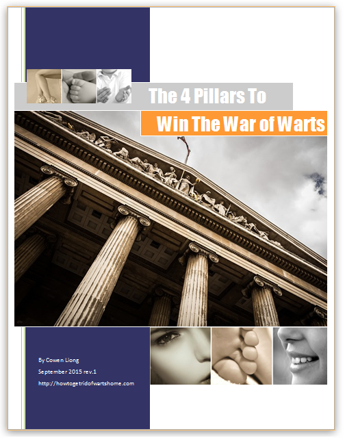 Win The War of Warts eGuide Cover Page