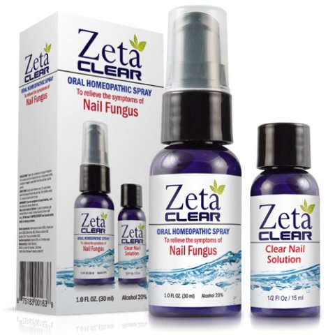 ZetaClear Spray and Oral Nail Fungus Treatment