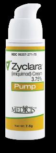 Zyclara Aldara pump