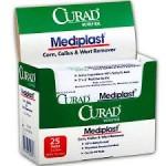 Curad Mediplast Wart Remover Pads