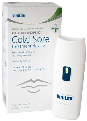 virulite cold sore machine electronic treatment