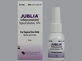 Efinaconazole Jubila Nail Fungus Treatment