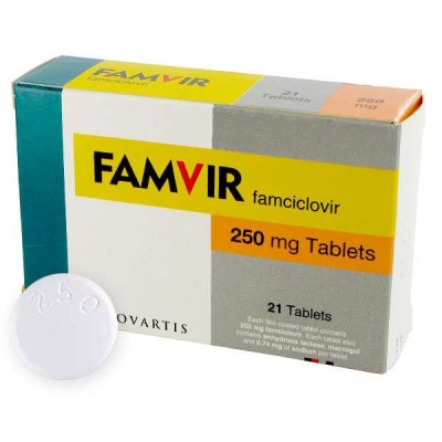 Famvir Cold Sore Genital Herpes Treatment