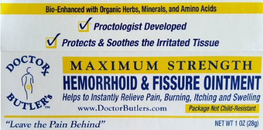 Doctor Butler Hemorrhoid Fissure Ointment
