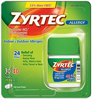 Zyrtec for Hives Treatment