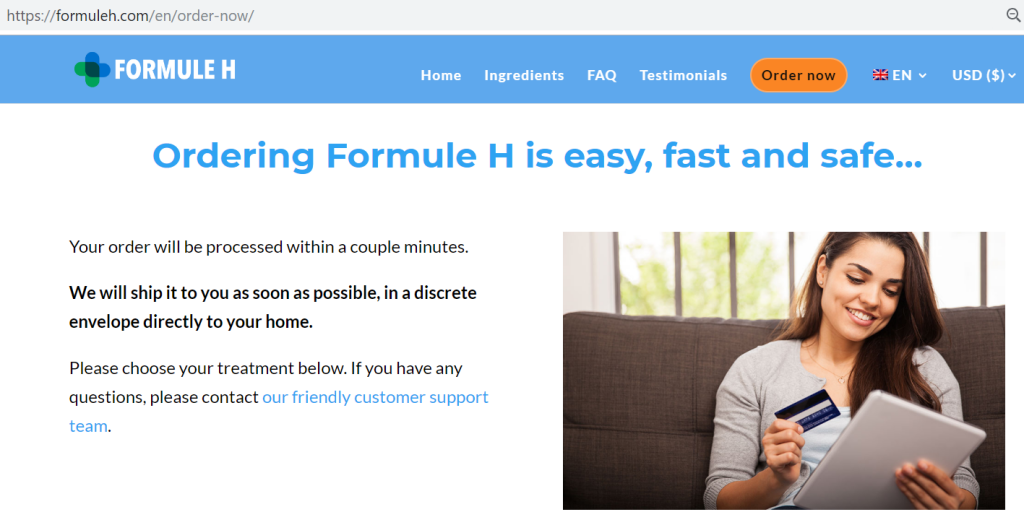 Formule H Where To Buy
