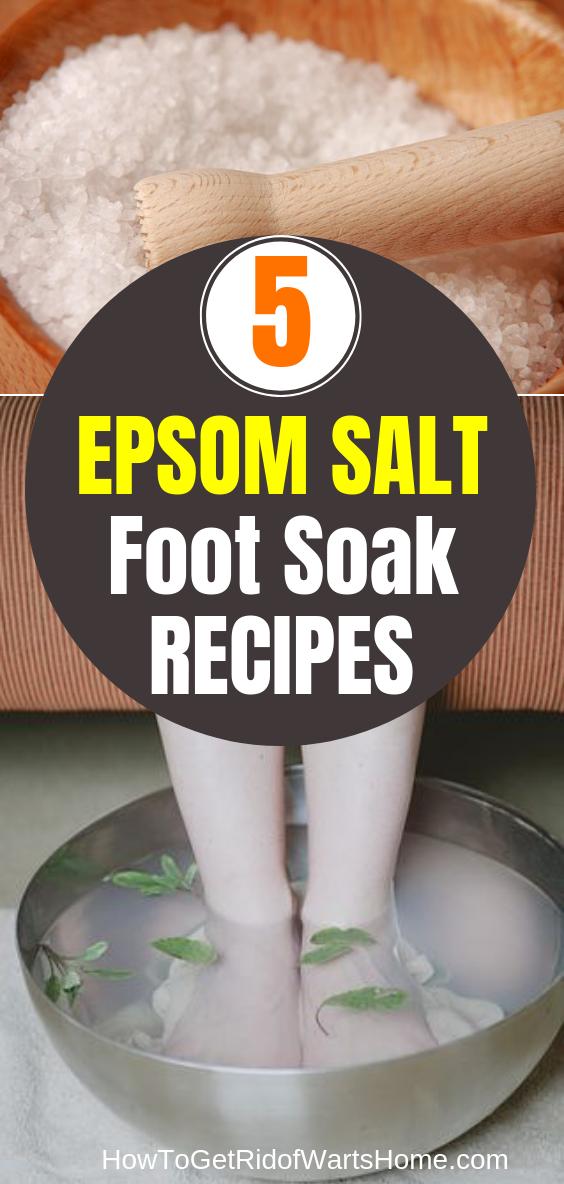 Epsom Salt Foot Soak Recipes